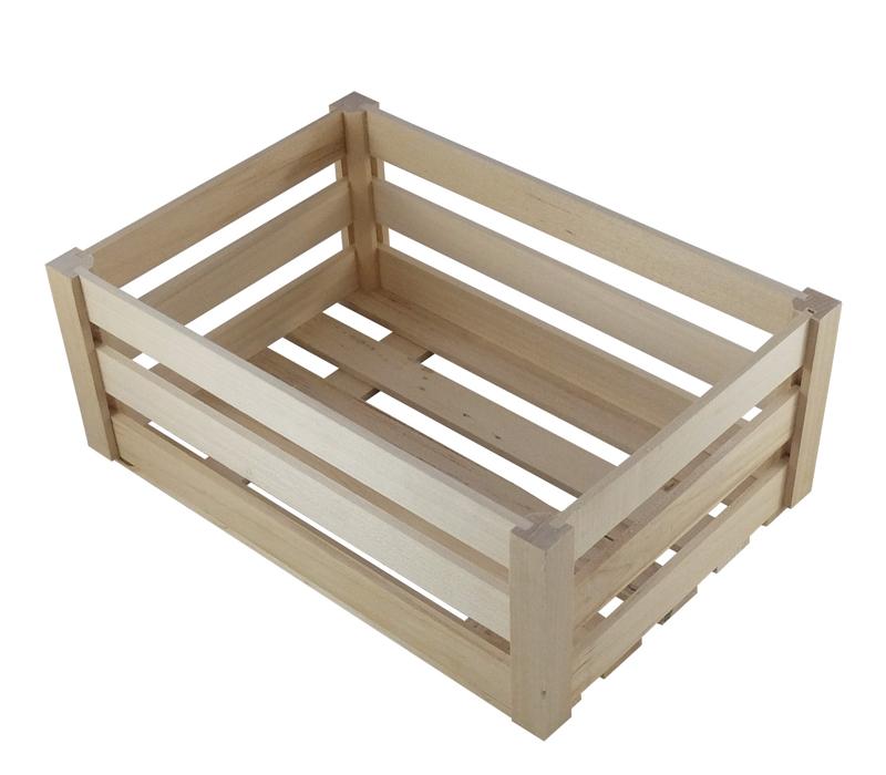 skrzynki z drewna