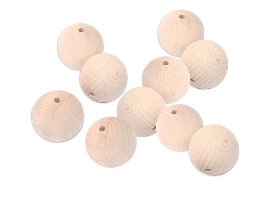 koraliki drewniane