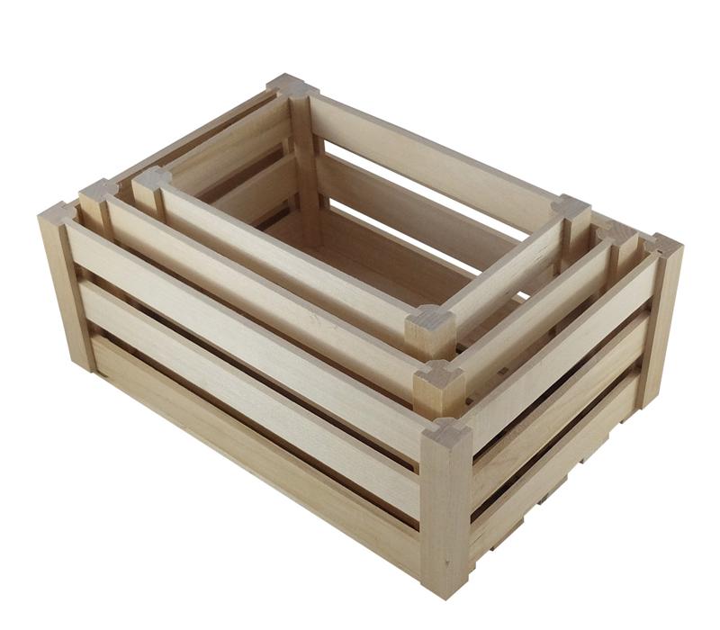 Skrzynki Drewniane Zestaw 3w1 Dekoracyjne Galanteria